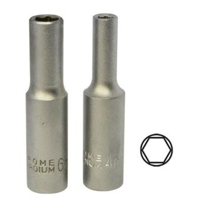 """Dugókulcs 12mm 1/4"""" hosszított"""