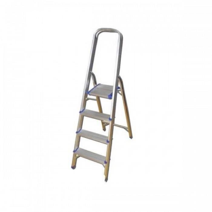 Létra aluminium, 4 lépcsős,