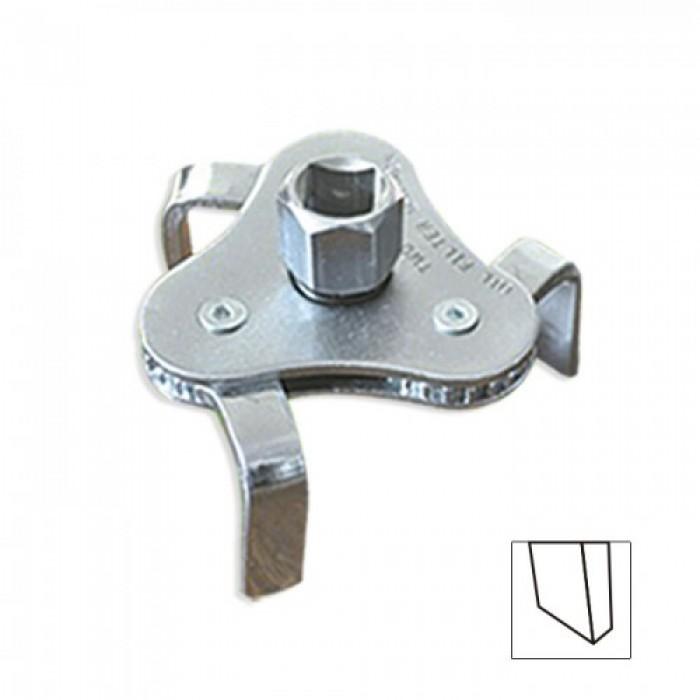 Körmös olajszűrő kulcs flat 1/2