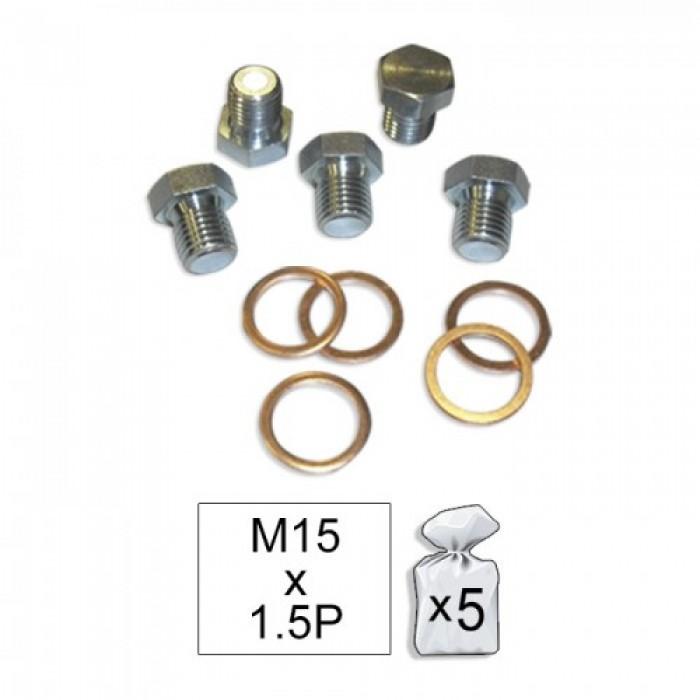 Menetjavító készlet M15x1,5 5d