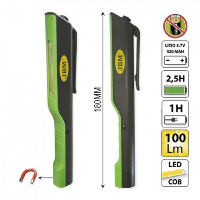 LED szerelőlámpa 100Lm 180mm