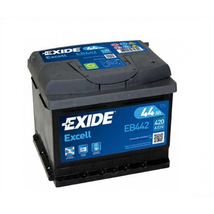 Exide 44ah akkumulátor EB442