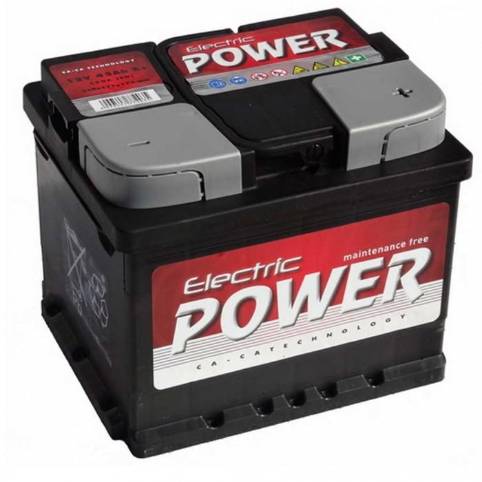 Electric Power 45ah Akkumulátor 360A jobb+