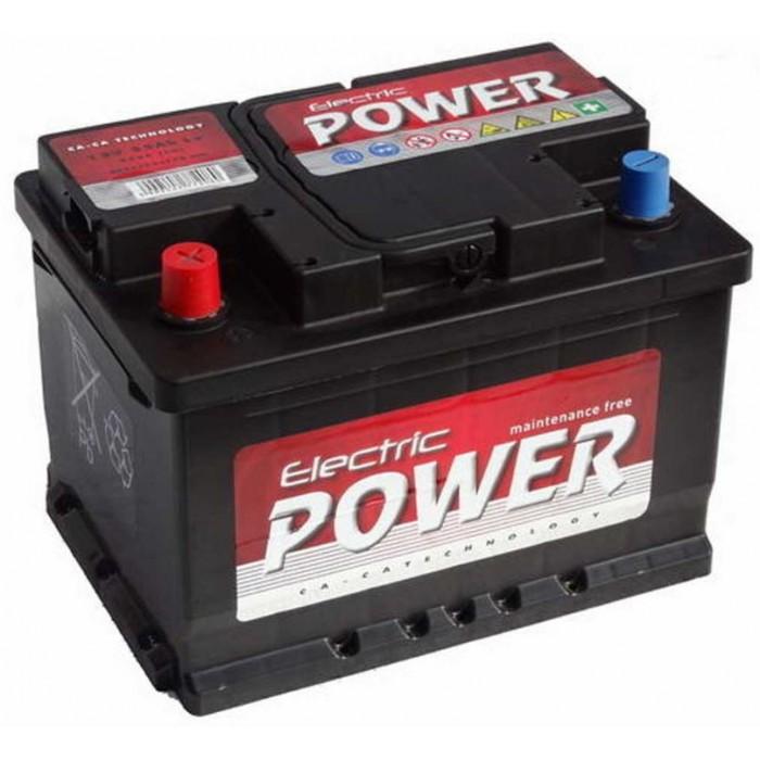 Electric Power 55ah B+ Akkumulátor 420A bal+