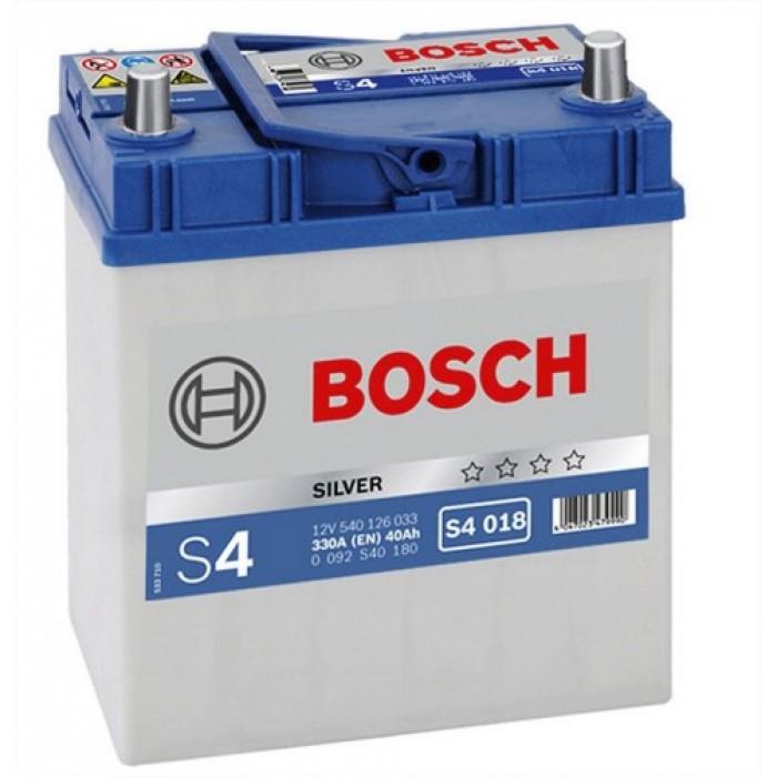 Akkumulátor Bosch Ázsia S4 40ah J+