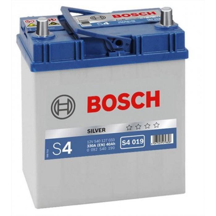 Akkumulátor Bosch Ázsia S4 40ah B+