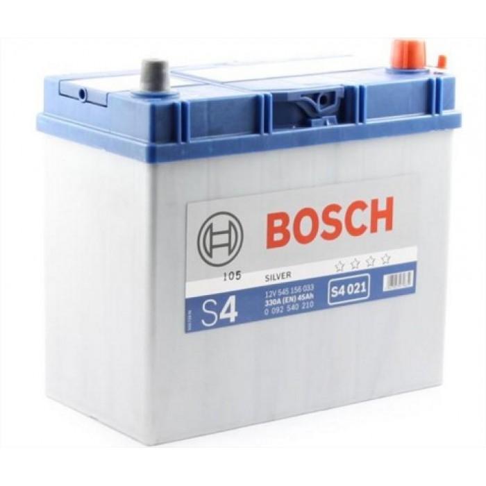 Akkumulátor Bosch Ázsia S4 45ah J+