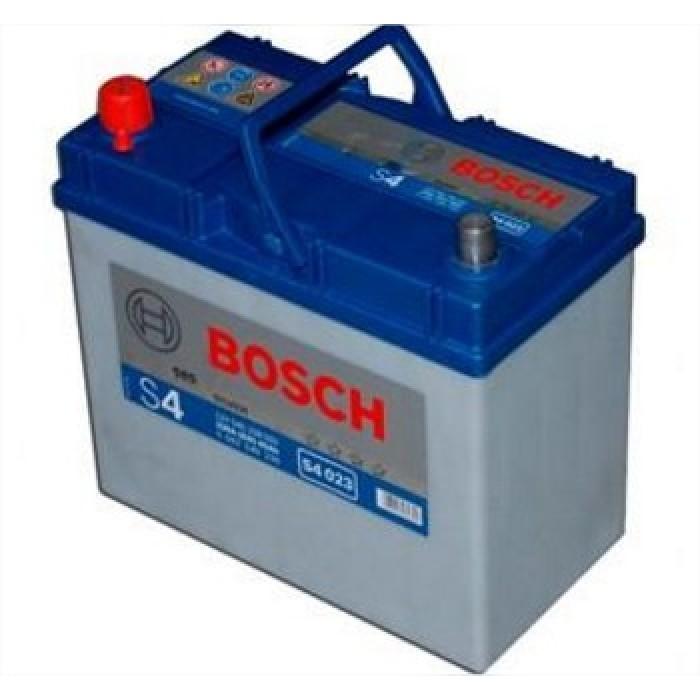 Akkumulátor Bosch Ázsia S4 45ah B+