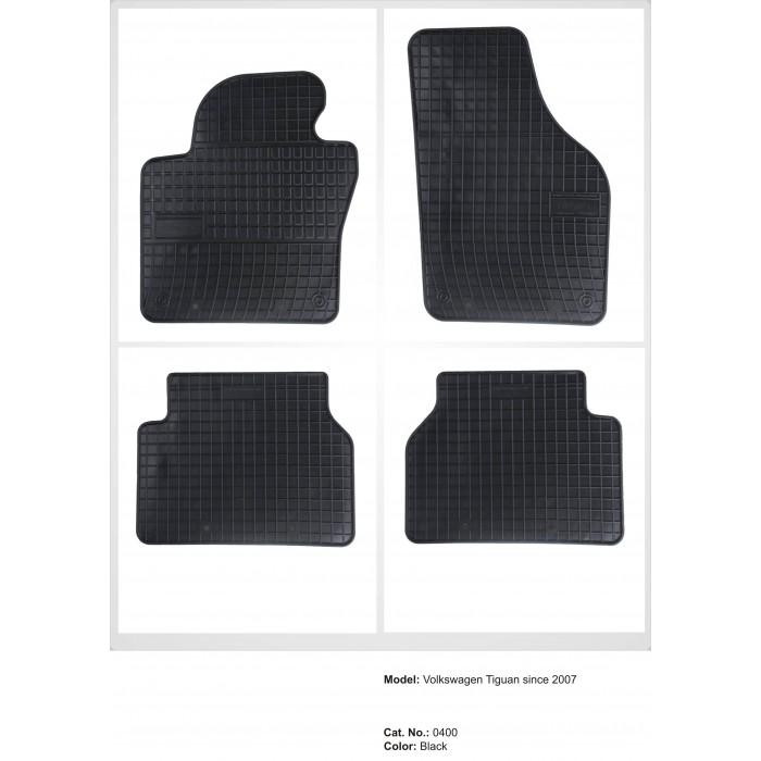 Volkswagen Tiguan  - 2007 -  - méretpontos gumiszőnyeg garnitúra