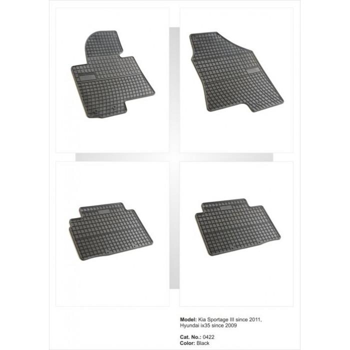 Kia Sportage III  - 2010 -  - méretpontos gumiszőnyeg garnitúra