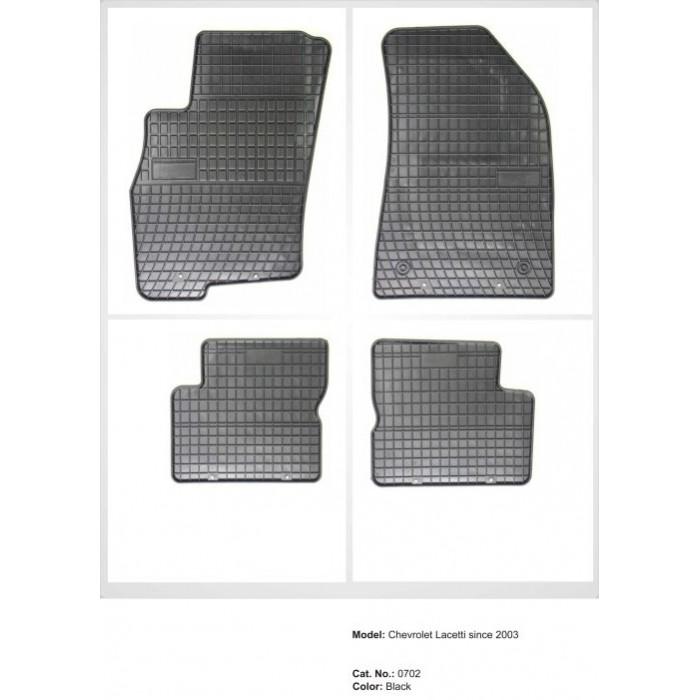 Chevrolet Lacetti  - 2003 -  - méretpontos gumiszőnyeg garnitúra