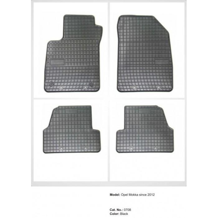 Chevrolet Trax  - 2013 -  - méretpontos gumiszőnyeg garnitúra