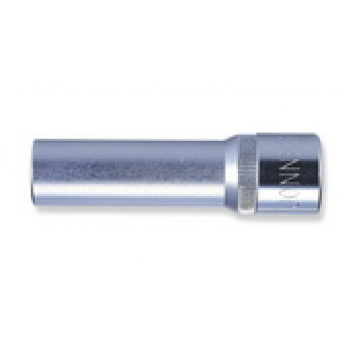 """Kézi dugókulcsfej 1/2"""" 6 lap hosszított 11mm"""