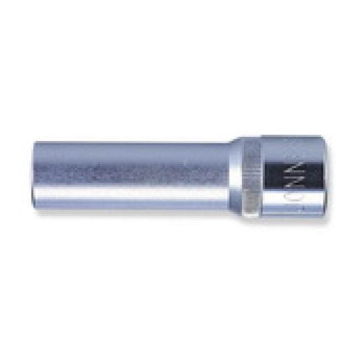 """Kézi dugókulcsfej 1/2"""" 6 lap hosszított 12mm"""