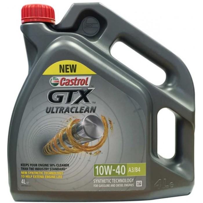 Castrol GTX 10W40 Ultraclean 4l