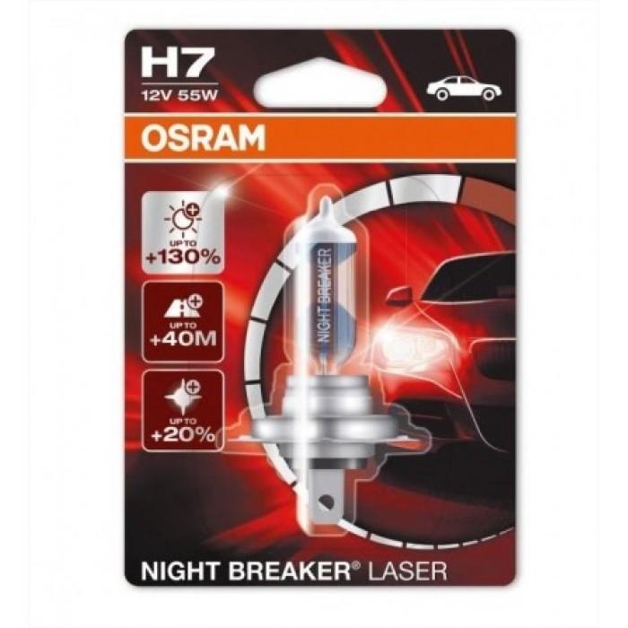 Osram H7 Night Breaker Laser 1db